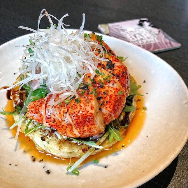 Lobster Okonomiyaki ($26)