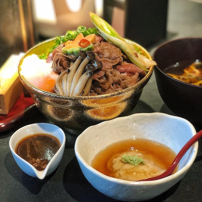 Kawami Wagyu Sukiyaki Don ($29.90)