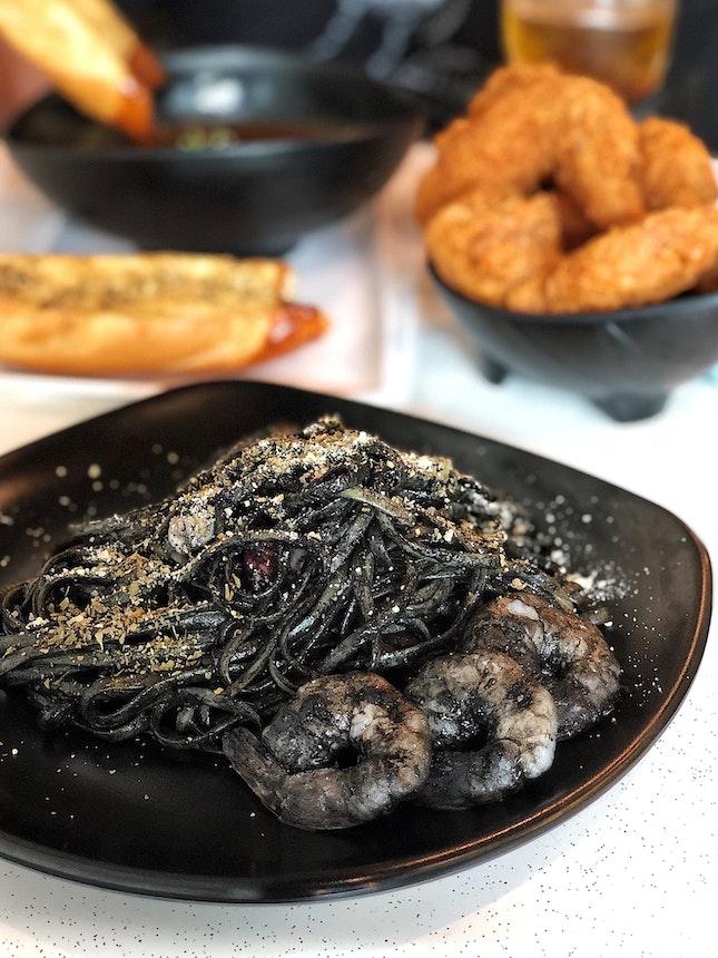 Squid Ink Pasta ($15.90)
