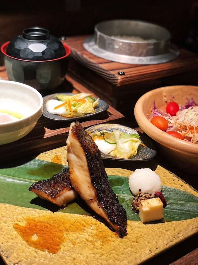 Miso Black Cod Set ($21.90)