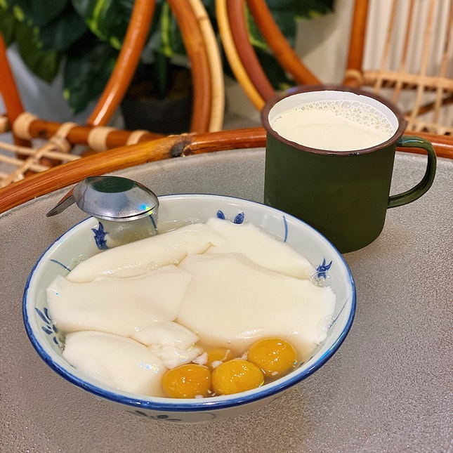 Tau Huay w/ Ginger Syrup