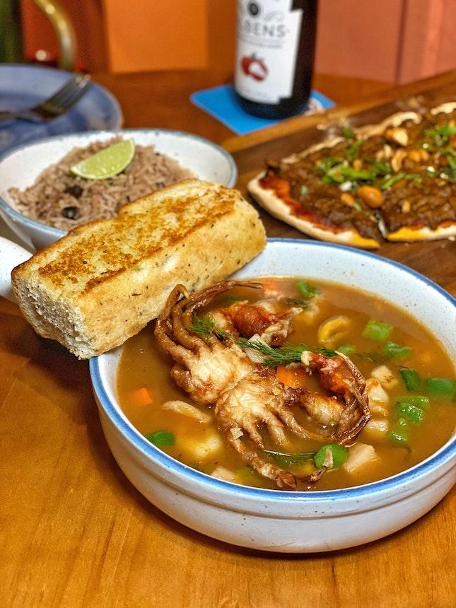 Enchilada Seafood Stew ($22)