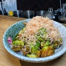 Roasted Brussel Sprouts ($16).