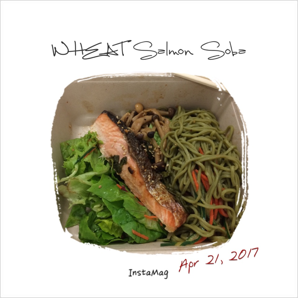 Wheat Salmon Soba