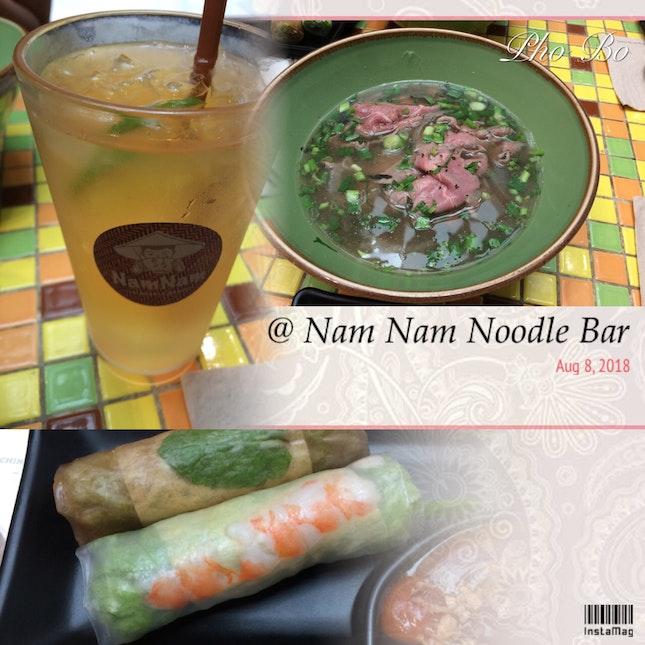 Pho Bo Lunch Set
