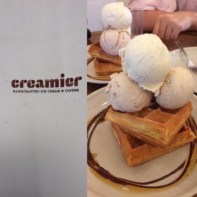 Ice-creams & Waffles