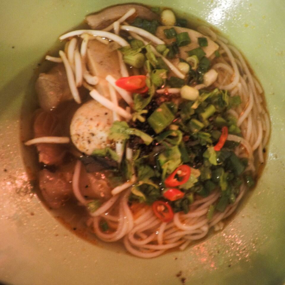 Spicy Beef Hue Noodles $10.00