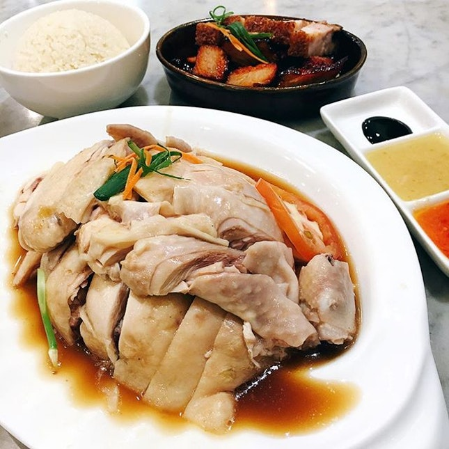 Chicken rice fix for tonight and these were just perfect to satisfy our cravings.