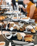 Taking high tea to higher height at Sky on 57 by Justin Quek.