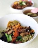 Where do you go for a good Thai wanton mee in SG?