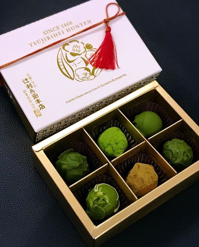 Once a year and Tsujirihei Honteh brings back some much awaited Matcha treats.