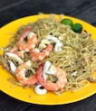 A short distance from where we originally intended to dine, we enjoyed this plate of yummy fried Hokkien mee.