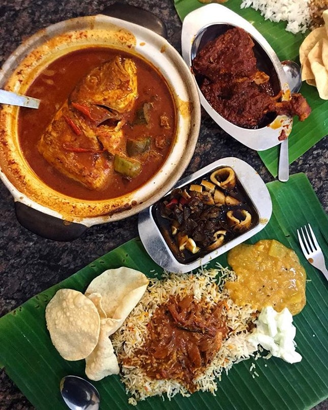 So we were looking for a fish head curry for something hot in the cold weather today, and Samy's kickass curry really turned up the heat for us!