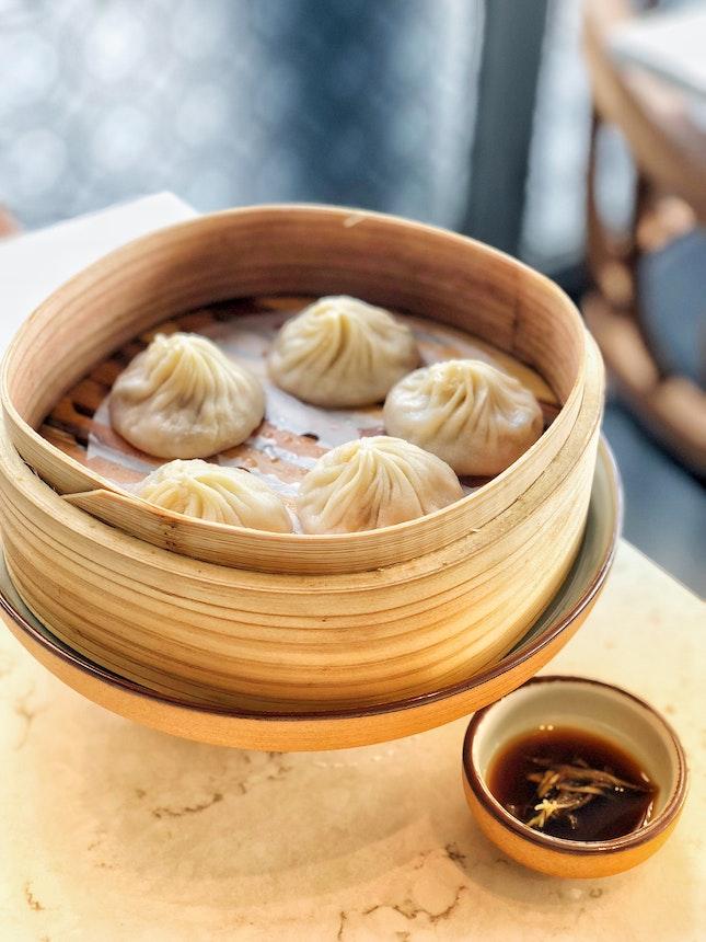 Chef Justin's Signature Foie Gras Xiao Long Bao