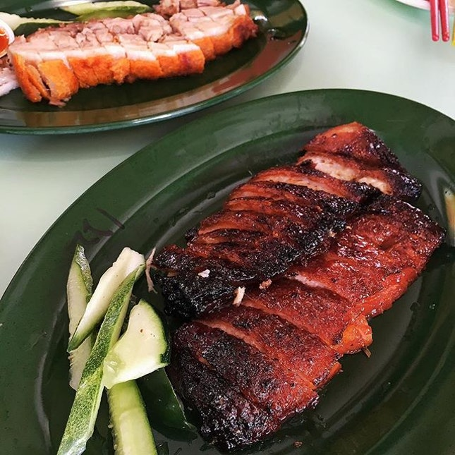 Char Siew (Caramelized Bbq Pork) ($8.50)  Not your usual Char Siew.