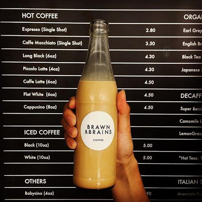 Cold Brew Coffee ($7.50) .