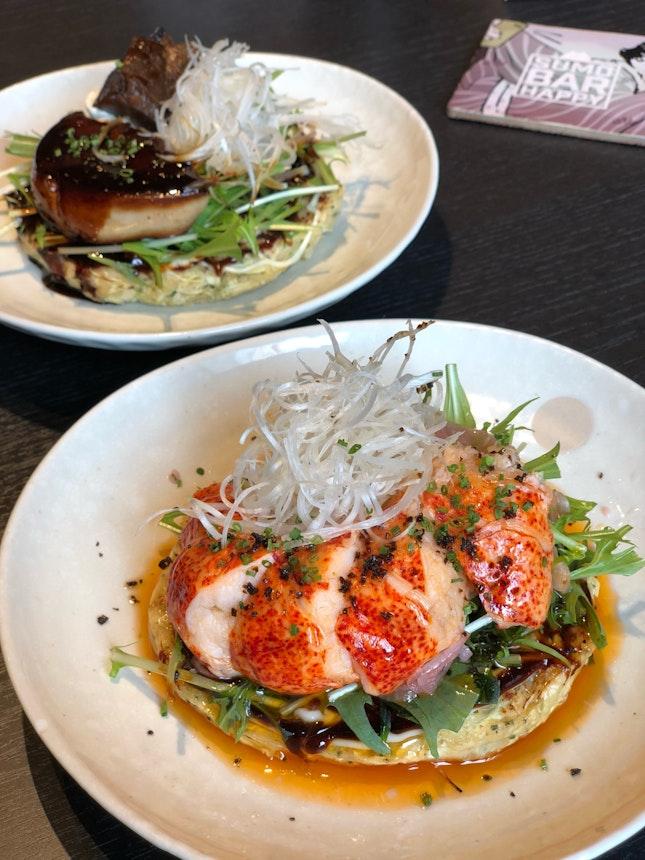 Lobster Okonomiyaki