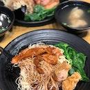Char Siew Wanton Noodle