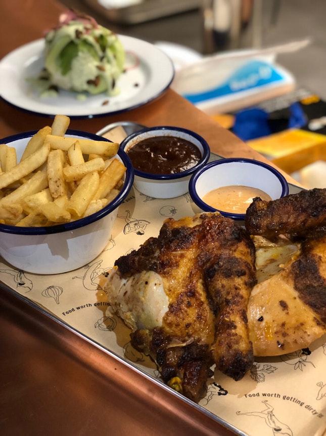 Spit Roasted Chicken Set