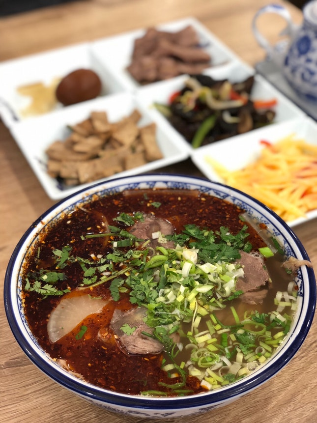 Mala Spicy Beef Noodle