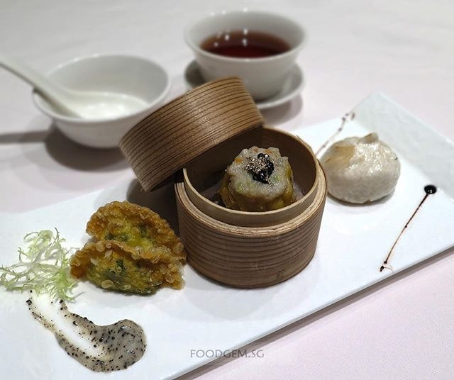 Another dim sum creation by award-winning Executive Chinese Chef Brian Wong of Wan Hao Chinese Restaurant.