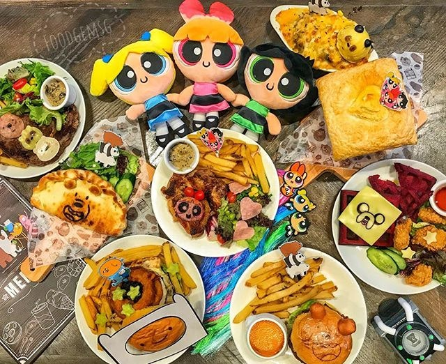 A new theme cafe has opened at The Soup Spoon Union x Cartoon Network Cafe.