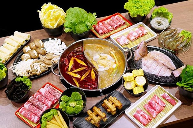 Craving for drinkable mala hotpot in this ☔️ day .
