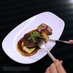 My favourite main go to Braised Beef Cheek with Madeira Wine.