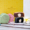 Crowne Plaza Changi Airport's new Champagne Truffle Snow Skin collection in four flavours including Black Sesame, Chestnut, Pandan and Red Date.