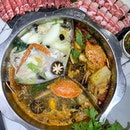 Hotpot gathers people together on a single pot and cook their own meats and vegetables.