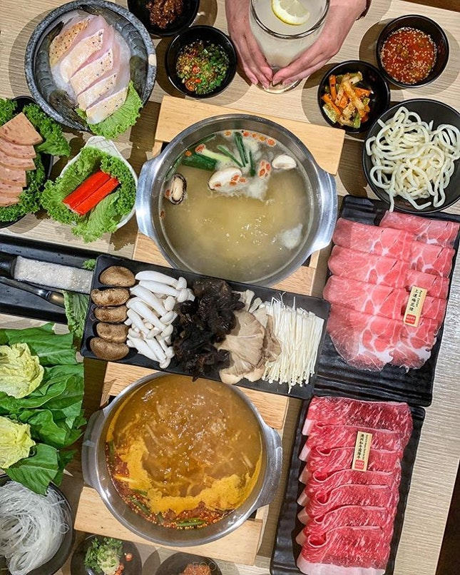 If you're a hot pot lover and work in the CBD, check out City Hot Pot at wallet-friendly prices.