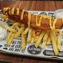 Cheesy Affair Fish n Chips ($10.90)