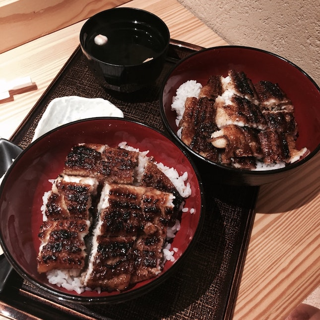 Best place for unagi rice bowl