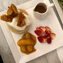 Milk & Honey Pancakes