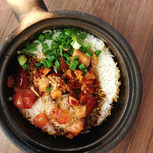Claypot Chicken Rice