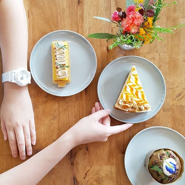 *** [NEW CAFE Alert] * Headed over to Wildseedcafe @thesummerhousesg for desserts this afternoon.
