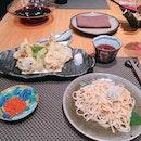 Really nice udon but tempura hmm...