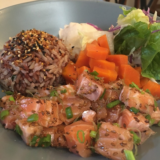House Sesame Salmon