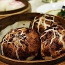 Truffle Mushroom BAO that looks like a mushroom??!!