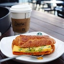 Otah+Egg Croissant ($6.90) 🥐 from @starbuckssg Not bad at all.
