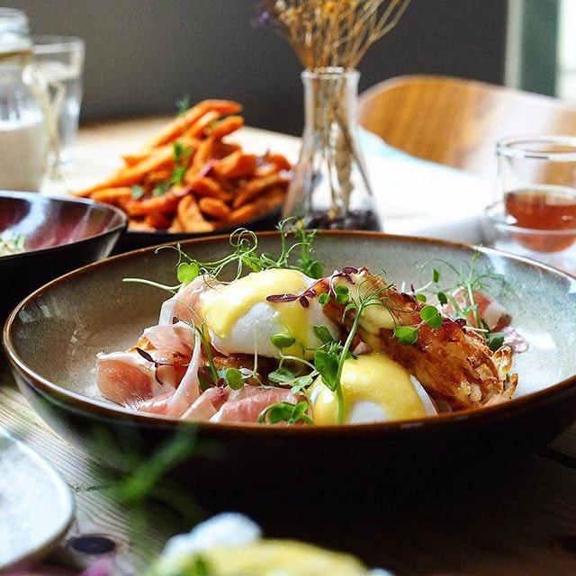 New brunch menu @montanasingapore Egg opening!