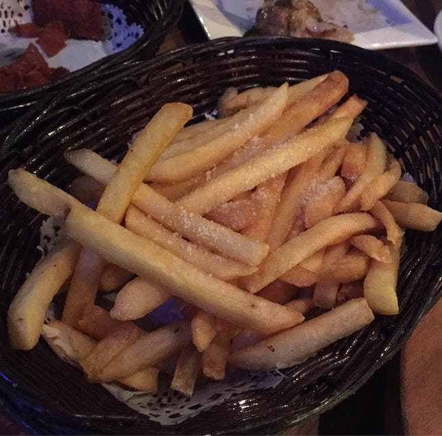 Truffle Fries ($9.55)
