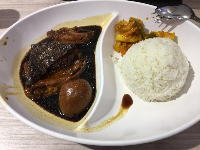 Soya Sauce Chicken Rice