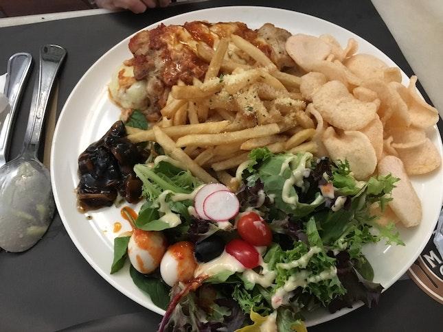 Chicken Jenganan Parmigiana