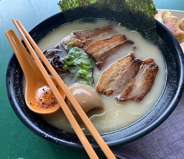 Special Tonkatsu Ramen- S$7.50