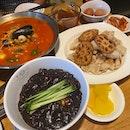 Jjangpong+ Jjajangmyeon + Tangsuyuk Set- $58 (w/ GST + Ser.)