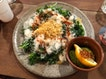 Kale Salad With Egg White