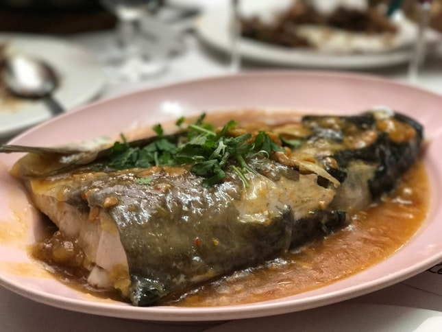 Song Fish Head With Preserved Yellow Beans
