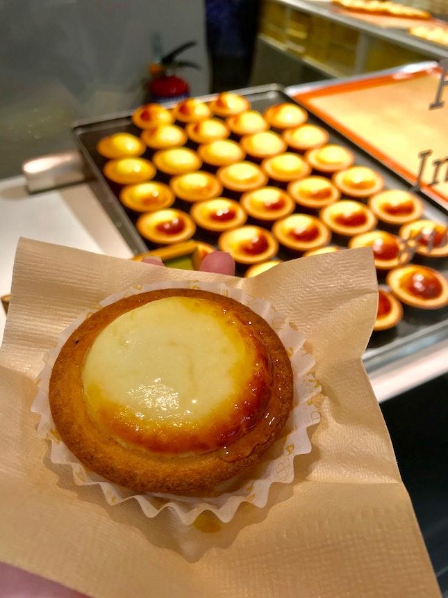 Lemon Cheese Tart With Honey ($3.90)