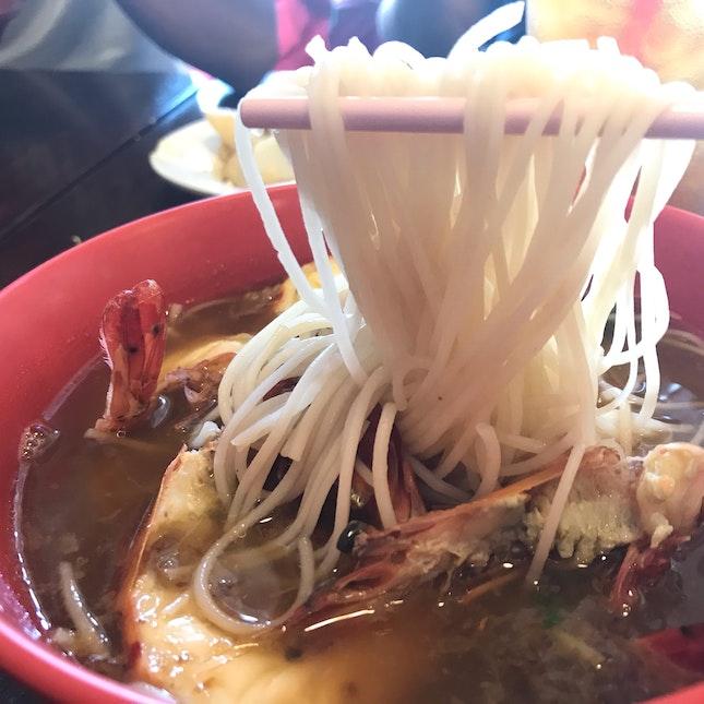 Delicious Prawn Noodles